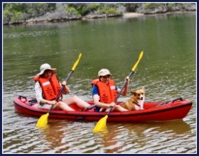 Canoeing Sedgefield and the Garden Route