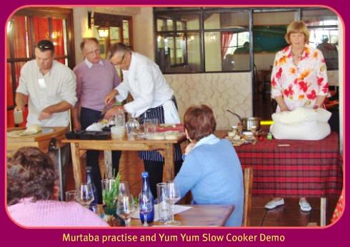 YumYum Slow cooker demo
