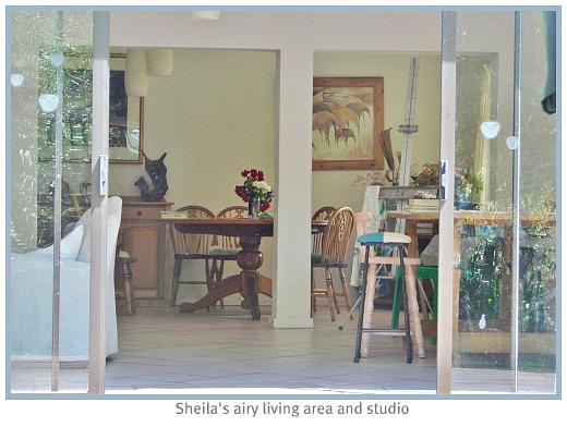 Sheila's studio