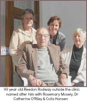 99 yr old Reedon Rodway