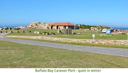 Buffalo Bay caravan park