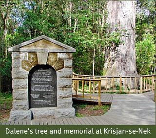 Memorial at Krisjan-se-Nek