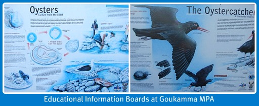 Educational Information Boards at the MPA