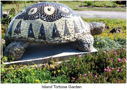Island tortoise garden