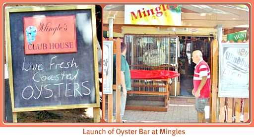 Mingles Oyster Bar launch