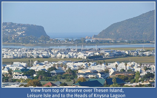 Pledge view to Knysna Heads