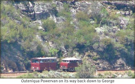 OPV return trip to George