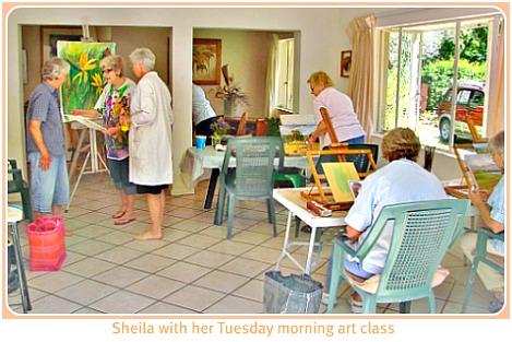 Sheila's Art classes