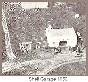 Shell Garage in 1950