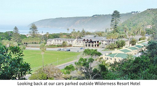 View of Wilderness Hotel