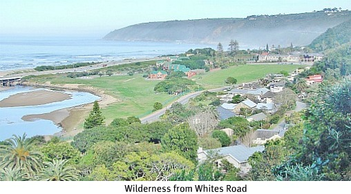 Whites Road overlooking Wilderness