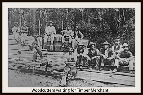 woodcutters waiting for the mrechants