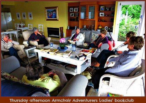 Ladies Bookclub meeting