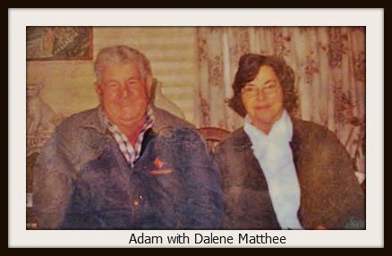 Dalene Matthee and Adam Stander