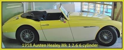 1958 Austin Healey