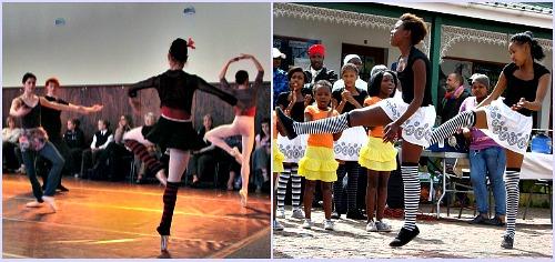Ballet and tradional dancing