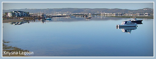 Peaceful morning on Knysna Lagoon