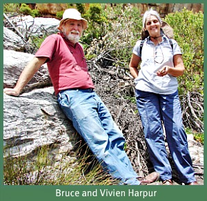 Bruce and Vivien Harpur