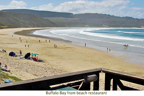 View of Buffalo Bay beach