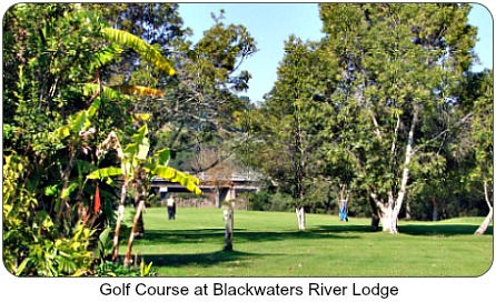 Golf courseat Blackwater River Lodg
