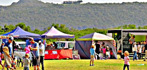 Eden Kite Festival stalls