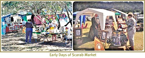Early days of Scarab Market