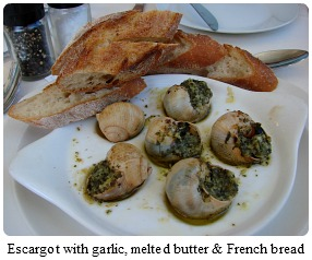 snails the French wa