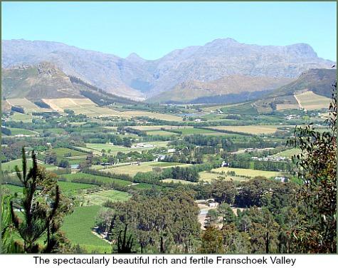 Beautiful Franschoek Valle