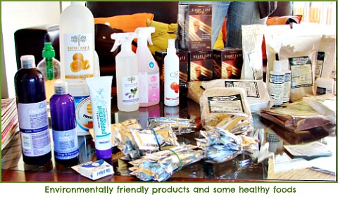 Earth, pet and people friendly products