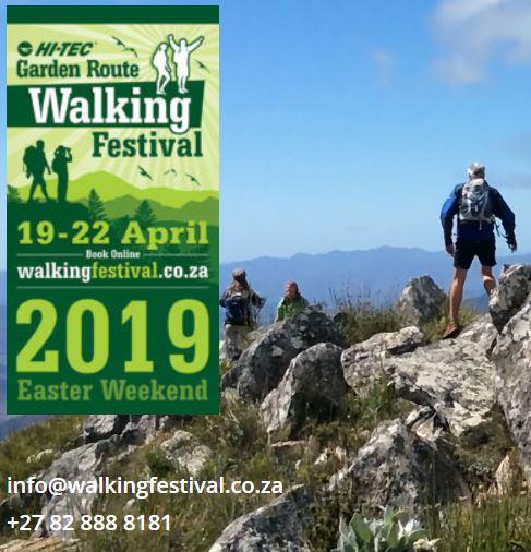 2019 Garden Route Festival Walks