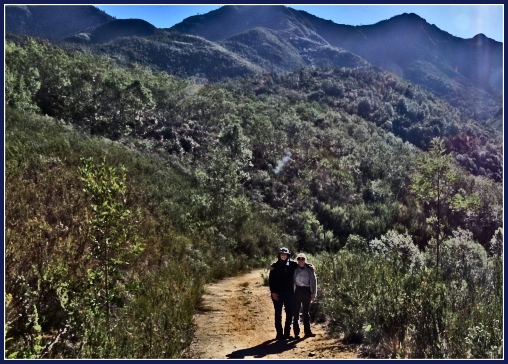 Hiking the Outeniqua Mountains outside George