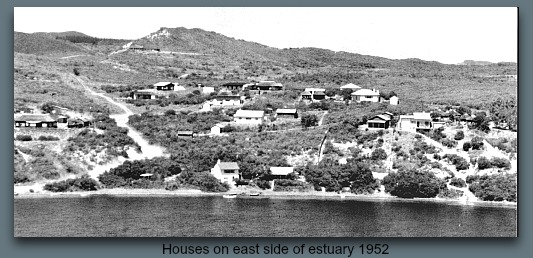 Houses on east side of estuary 195