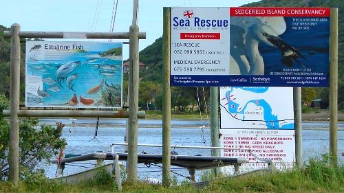 Island Conservancy signage