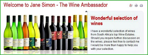 Jane Simons, Wine Ambassador
