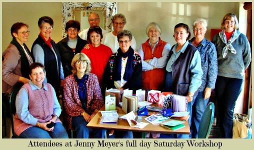 Jenny Meyer's Calligraphy Workshop