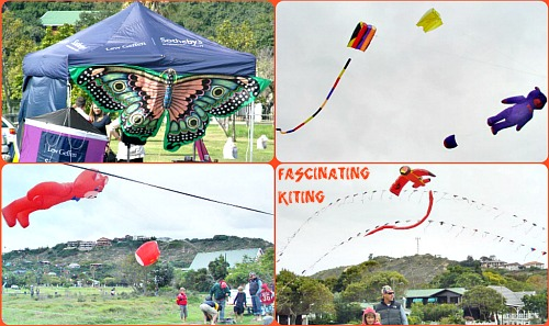 Slow Festival kite display