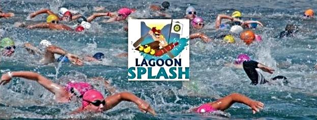 Competitors participating in the December Knysna Lagoon SPLASH Festival