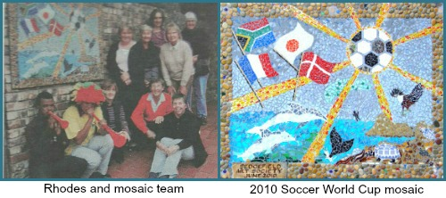 Art Society library mosaic