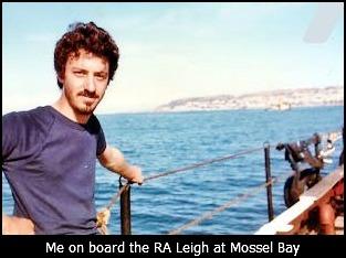 Martin at Mossel Bay