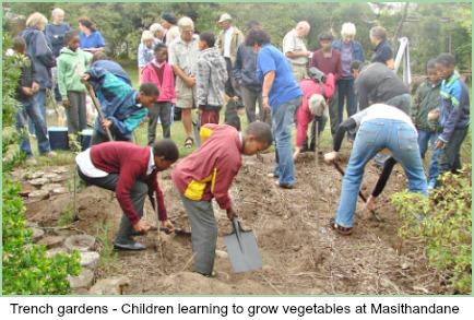 Masithandane children's Trench Garden Project