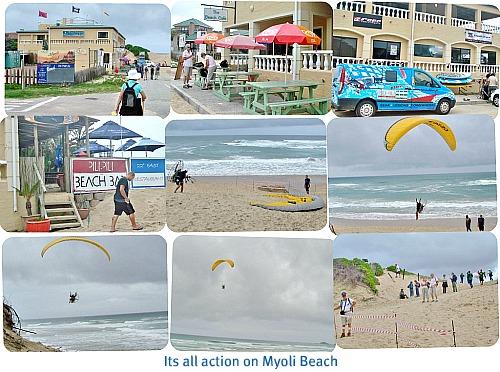 Action at Myoli Beach