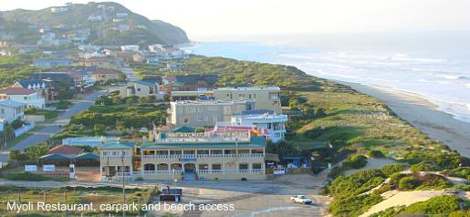 Myoli restaurant and beach acces