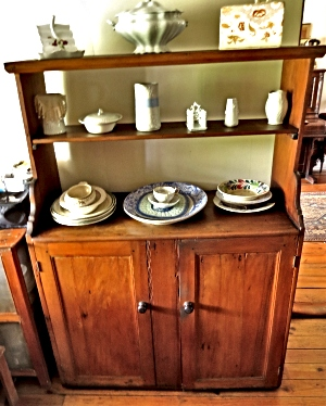 Sideboard from the Nepaul now in Millwood House Museum, Knysna