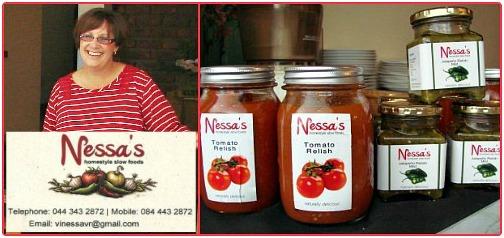 Vinessa's homemade relishe