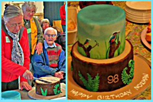 Norman Elwell's 98th bithday