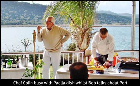 Bob Dudley & Chef Colin Capon