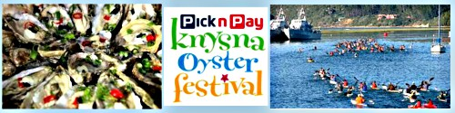 Food and Fun at the Knysna Oyster Festival