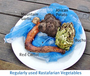 Rastafarian vegetables