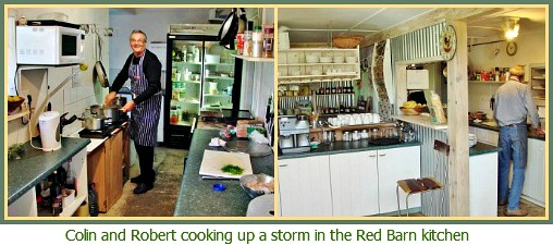 Red Barn kitche