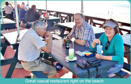 Casual restaurant at Buffalo Bay